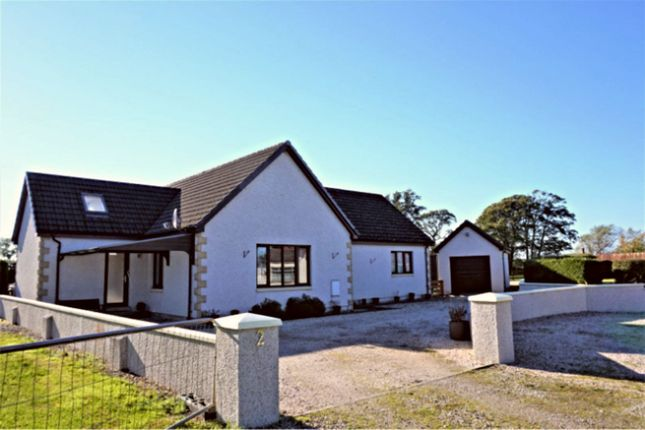 Thumbnail Detached bungalow for sale in Old Croft, Spey Bay