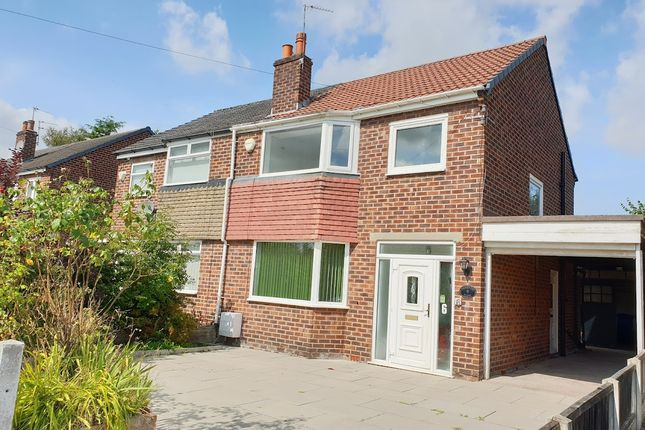 Thumbnail Semi-detached house to rent in Pickering Close, Altrincham