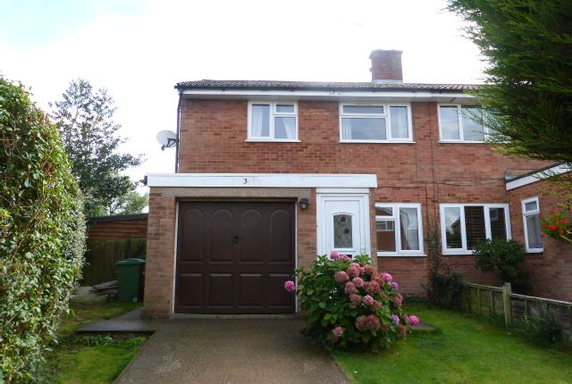 Thumbnail Semi-detached house to rent in Blackthorn Grove, Woburn Sands