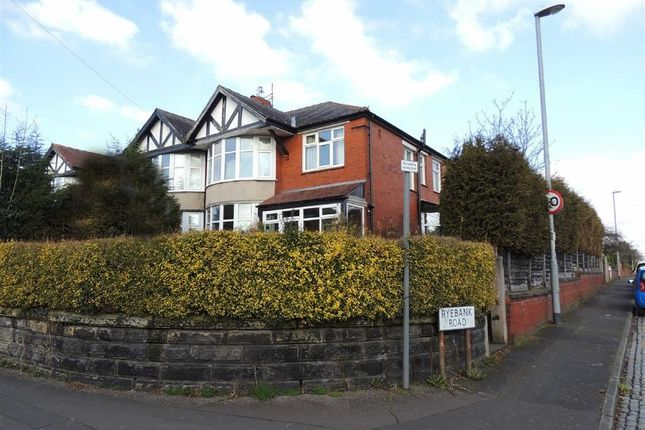 Thumbnail Semi-detached house for sale in Edge Lane, Chorlton, Manchester