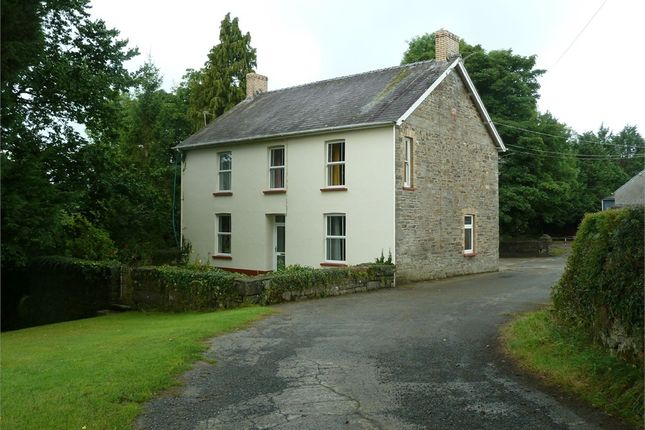 Thumbnail Detached house for sale in Pantyderi Farm, Bancyfelin, Carmarthen