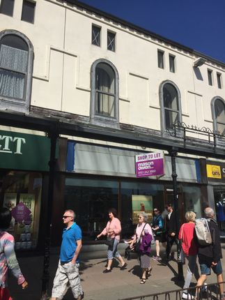 Thumbnail Retail premises for sale in Mostyn Street, Llandudno