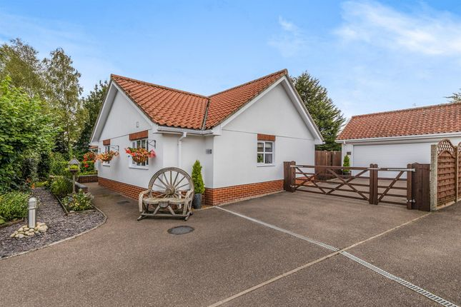 Thumbnail Detached bungalow for sale in Warnes Meadow, Bedfield, Woodbridge