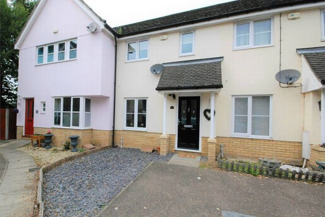 2 bed terraced house for sale in Southgate Crescent, Tiptree, Essex CO5