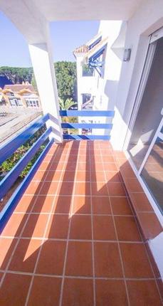 Terrace of Calahonda, Costa Del Sol, Andalusia, Spain