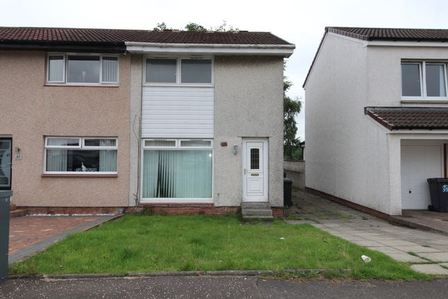 Thumbnail Semi-detached house to rent in Ayr Drive, Airdrie, North Lanarkshire