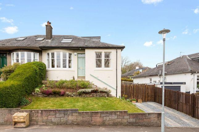 Thumbnail Semi-detached bungalow for sale in 23 Maidencraig Crescent, Blackhall, Edinburgh