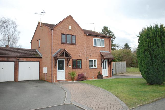 Thumbnail Semi-detached house for sale in Allwoods Close, Alcester