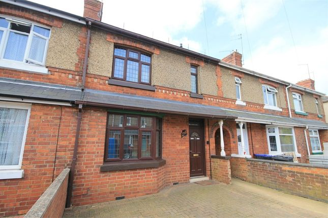 3 bed terraced house to rent in Lesson Road, Brixworth, Northampton