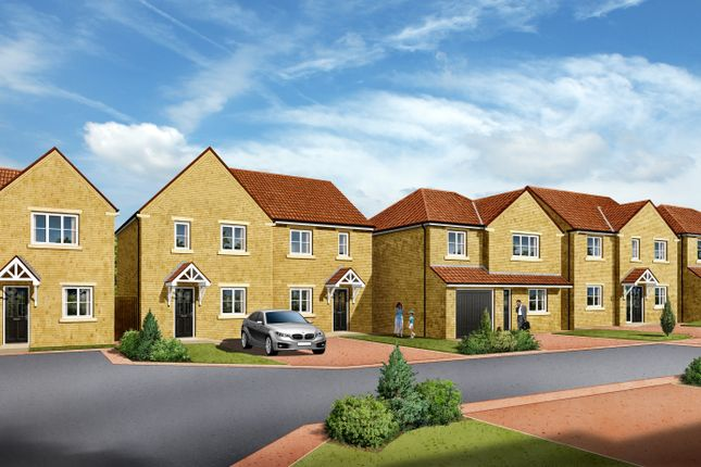 Thumbnail Detached house for sale in Plot 3, 'the Cambridge', Bellwood Court, Hoyland, Barnsley