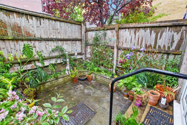 Garden of Fairfield Road, Bow, London E3
