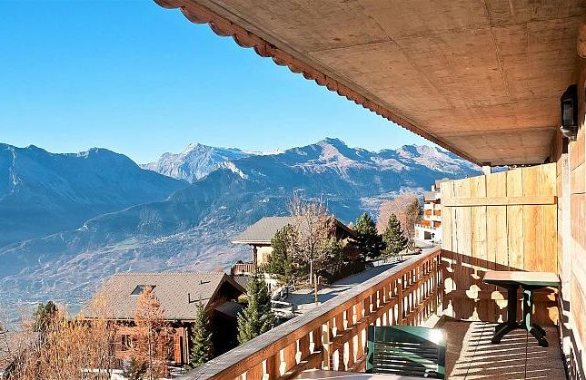 Thumbnail Apartment for sale in Balcons Du Soleil Ii 202, Veysonnaz, Valais, Switzerland