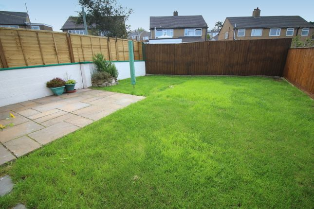 Garden of Dolphin Close, Plymstock, Plymouth PL9