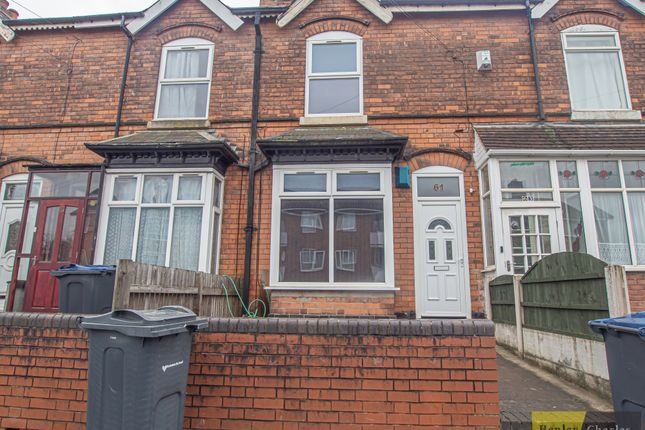 3 bed terraced house to rent in Wood Lane, Handsworth Wood, Birmingham B20