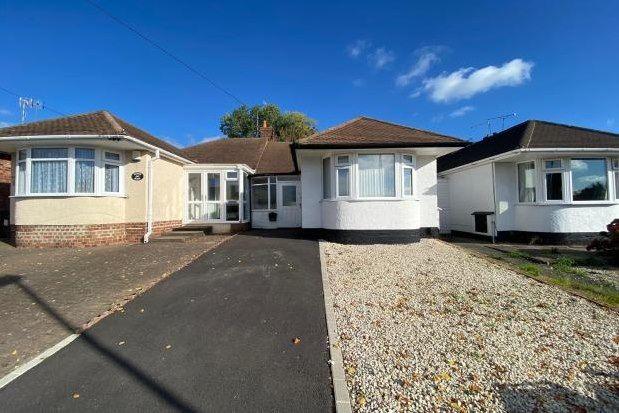 2 bed bungalow to rent in Boyne Road, Birmingham B26