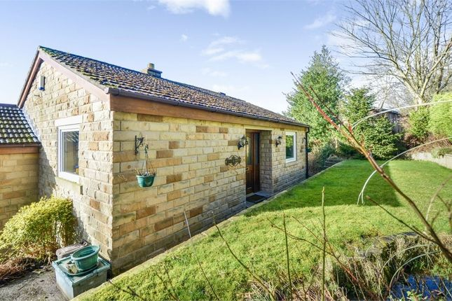 Thumbnail Detached bungalow for sale in The Mount, Todmorden, West Yorkshire