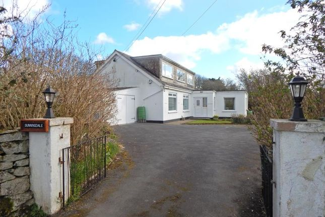 Thumbnail Detached bungalow for sale in Trescowe Road, Goldsithney, Penzance