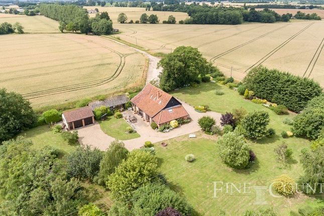 Thumbnail Barn conversion for sale in Lopham Road, Kenninghall, Norwich
