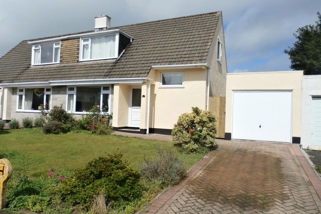 Thumbnail Semi-detached house to rent in Courtlands Road, Tavistock