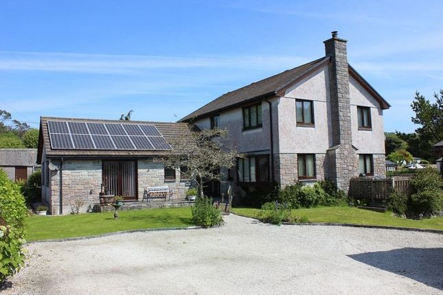 5 bed detached house for sale in Trethurgy, St. Austell