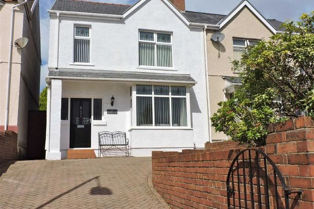 Thumbnail Semi-detached house for sale in Vicarage Road, Morriston, Swansea