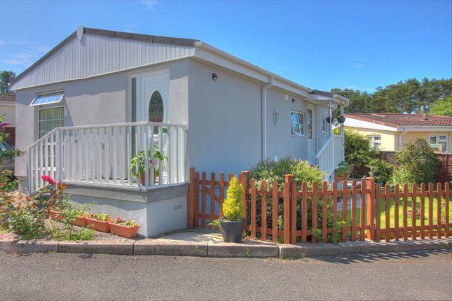Thumbnail 2 bed mobile/park home for sale in Croft Farm Park, Luxulyan, Bodmin