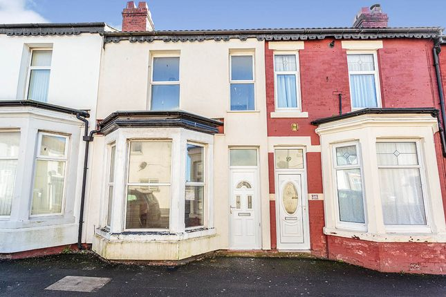 3 bed terraced house for sale in Ribble Road, Blackpool, Lancashire FY1