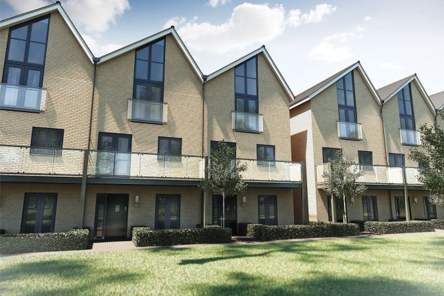 Thumbnail Town house for sale in Rowhedge Wharf, Rowhedge, Colchester, Essex