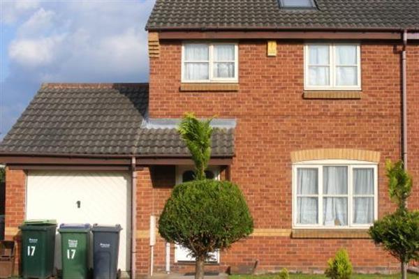 Thumbnail Semi-detached house to rent in Horsecroft Drive, West Bromwich, Birmingham