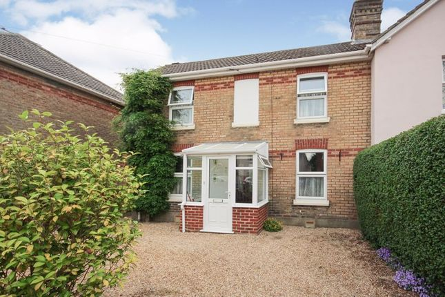 Semi-detached house for sale in Ridley Road, Winton, Bournemouth