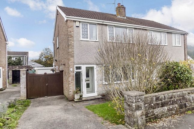 Thumbnail Semi-detached house for sale in Llwyn Bedw, Pencoed, Bridgend .