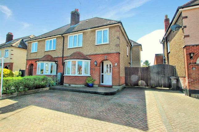 Thumbnail Semi-detached house for sale in Littlebury Gardens, Old Heath, Colchester