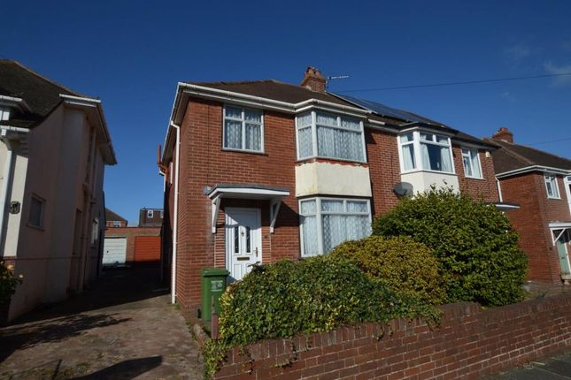 Thumbnail Semi-detached house for sale in Whiteway Drive, Heavitree, Exeter