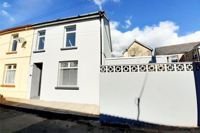 Thumbnail End terrace house for sale in Hunt Terrace, Cefn Coed, Merthyr Tydfil