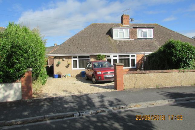 Thumbnail Semi-detached bungalow to rent in Southfield Close, Uphill, Weston-Super-Mare