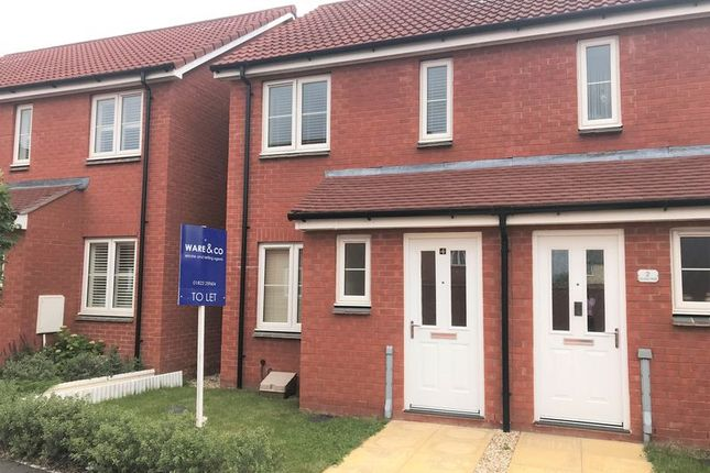 Thumbnail Semi-detached house to rent in Cavallo Walk, North Petherton, Bridgwater, Somerset