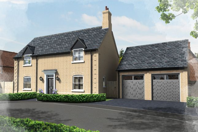 Thumbnail Detached house for sale in Plot 34, Hill Place, Brington, Cambs