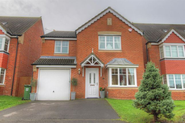 Thumbnail Detached house for sale in Ellesmere Close, Fencehouses, Houghton Le Spring