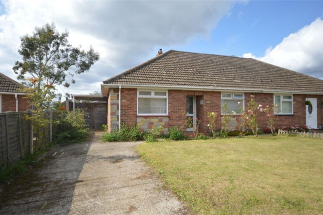 Thumbnail Semi-detached bungalow for sale in Sursham Avenue, Sprowston, Norwich