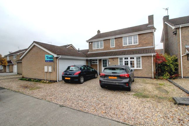 Thumbnail Detached house for sale in Somerfield Way, Leicester Forest East, Leicester