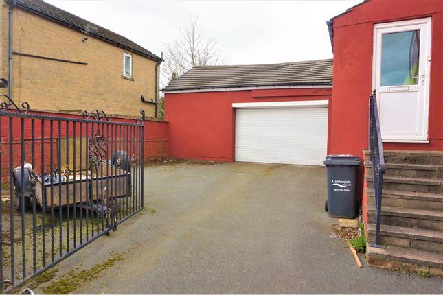 Gated Driveway of Albert View, Halifax HX2