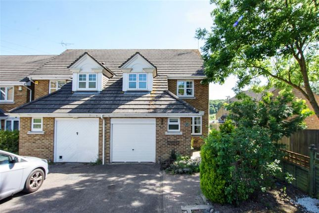 Thumbnail Semi-detached house for sale in Page Close, Bean, Dartford