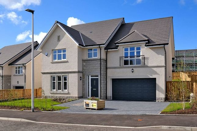 "Thumbnail 5 bedroom detached house for sale in ""The Garvie - Plot 13"" at Balhalgardy Rise, Inverurie"