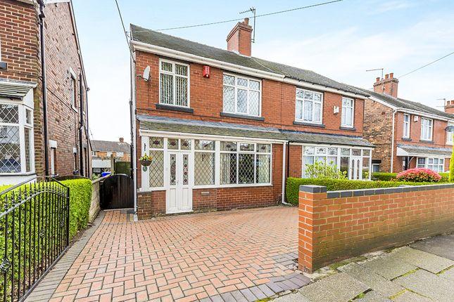 Thumbnail Semi-detached house for sale in High Lane, Burslem, Stoke-On-Trent