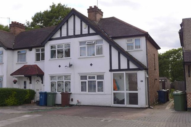Thumbnail End terrace house to rent in Belsize Road, Harrow, Middlesex