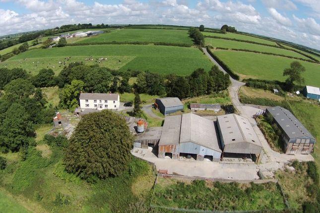 Thumbnail Farm for sale in Cwmbach, Whitland