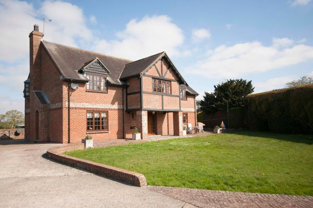 Thumbnail Detached house for sale in Soake Road, Denmead
