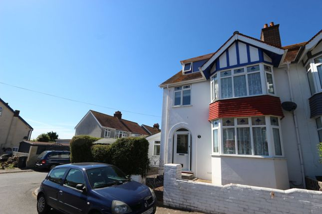 Thumbnail Semi-detached house for sale in Cedar Court Road, Torquay