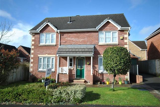 Thumbnail Detached house for sale in Westacott Meadow, Barnstaple