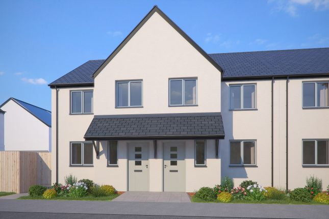 Thumbnail Terraced house for sale in The Kedleston, Greenspire, Clyst St Mary, Exeter, Devon